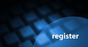 Register background Stock Image