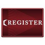 Register button royalty free illustration