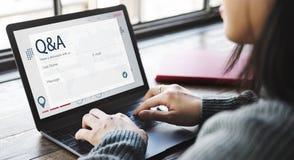 Register Enquiry Online Web Page Concept. Register Enquiry Online Web Page royalty free stock images