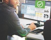 Register Enter Membership Sign-in Socialize Concept Stock Images