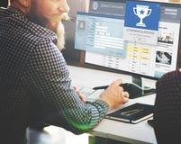 Register Enter Membership Sign-in Socialize Concept. Businessman Online Membership Registration  Concept Stock Image