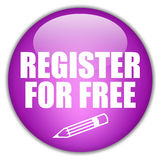 Register free button Royalty Free Stock Photo