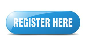 Free Register Here Button. Register Here Sign. Key. Push Button. Stock Photo - 180935590