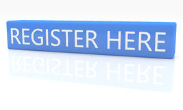 Register hier Stock Afbeeldingen