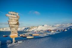 Register i Antarktis Arkivbild