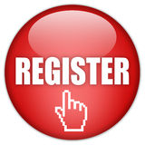 Register jetzt Stockfotos