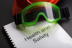 Register med skyddsglasögon arkivfoton
