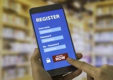 Register Stock Image