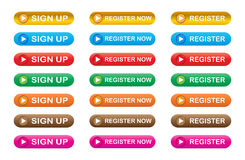 Free Register Now Stock Photos - 23902443