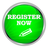 Register now badge Royalty Free Stock Photography