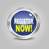 Register Now Button Royalty Free Stock Images