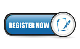 Register now design. Royalty Free Stock Photo