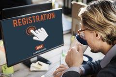 Register Registration Enter Apply Membership Concept Stock Images
