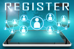 Register Stock Photo