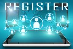 Register Stock Photo