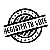 Register To Vote rubber stamp Royalty Free Stock Image
