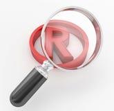 Registered Mark Stock Images