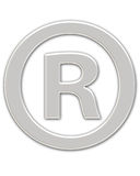 Registered Symbol Stock Photo
