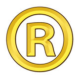 Registered Trade Mark Stock Photo