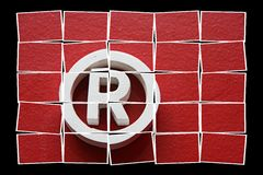 Registered trademark Stock Images