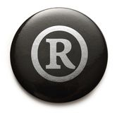 Registered trademark sign Royalty Free Stock Photography