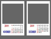 Registi per l'anno 2019 immagine stock libera da diritti