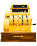 Registo de dinheiro antigo Fotos de Stock Royalty Free