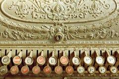 Registo de dinheiro do vintage Imagem de Stock Royalty Free