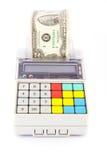 Registo de dinheiro portátil Foto de Stock
