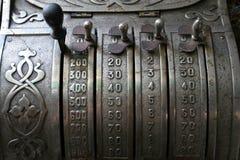 Registo de dinheiro velho Foto de Stock Royalty Free