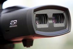 registrador da câmera 3D Fotografia de Stock Royalty Free