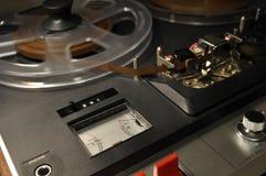 Registrador de carrete del vintage Imagenes de archivo