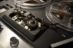 Registrador de carrete del vintage Imagen de archivo libre de regalías