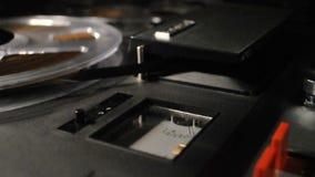 Registrador de carrete del vintage, metro del vu almacen de metraje de vídeo