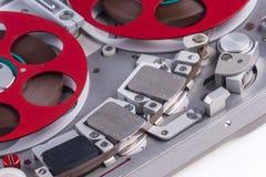 Registrador de cinta de audio de carrete bujía métrica 1 Fotografía de archivo libre de regalías