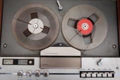 Registrador de la música de la cinta de audio del vintage Imagen de archivo