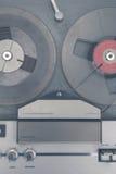 Registrador de la música de la cinta de audio del vintage Fotografía de archivo libre de regalías