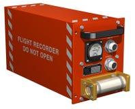 Registrador de vuelo Foto de archivo libre de regalías