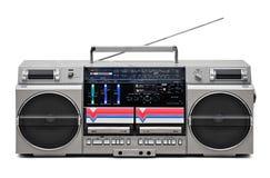 registrador del audio del Retro-estilo Imagenes de archivo