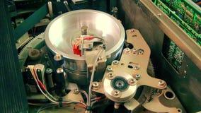 Registrador interior del Vhs: Progreso de funcionamiento de la cabeza magnética