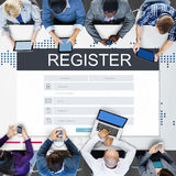 Registration Application Membership Account Concept Royalty Free Stock Image