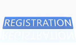 Registration Royalty Free Stock Photo