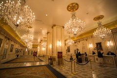 Registration desk at the Paris Hotel in Las Vegas Stock Photography