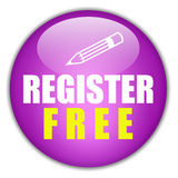 Registration free button Royalty Free Stock Photography