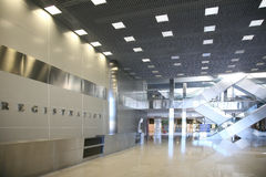 Registration Hall Stock Photo