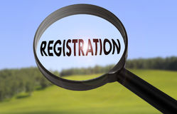 Registration Stock Images