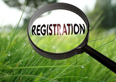 Registration Royalty Free Stock Images