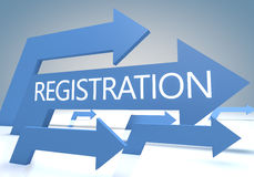 Registration Royalty Free Stock Photos