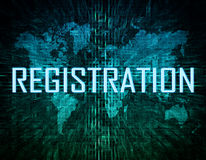 Registration Royalty Free Stock Image