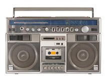 Registratore a cassetta radiofonico 2 fotografie stock libere da diritti
